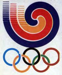 Эмблема XXIV Олимпиады