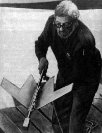 Филип Далханти с якорем «Флюк»