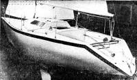 Фото корпуса яхты «Нева»