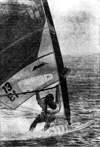 Фред Хейвуд во время рекордного заезда