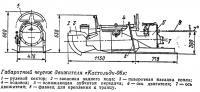 Габаритный чертеж движителя «Кастольди-06»