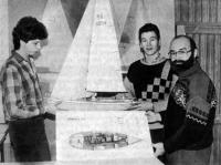Группа конструкторов кооператива «Одиссей». Крайний справа А. Стружилин