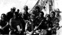 Групповой портрет участника плавания 1978 года