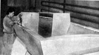 Изготовление корпуса катера «Стиль-2500»