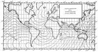 Карта изохрон при возвращении к мысу Лизард