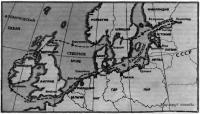 Карта плавания яхты «Канна»