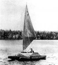 Катамаран «Аргонавт» выходит в первое плавание