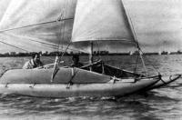 Катамаран — отличное судно для водного семейного туризма