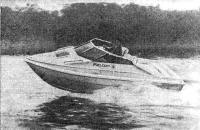 Катер «Фэлкон-18 Спорт» на ходу