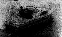 Катер «Мираж» на воде