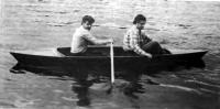 Каяк «Крохаль» с двумя пассажирами