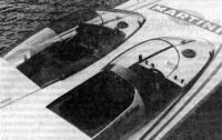 Кокпит экипажа на «Мартини Бьянка», защищенный прозрачными колпаками