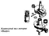 Коленчатый вал моторов «Вихрь»