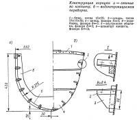 Конструкция корпуса катамарана