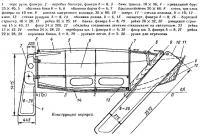 Конструкция корпуса яхты «Малыш»