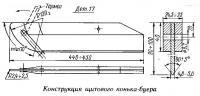 Конструкция щитового конька-буера