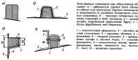 Конструкция стрингеров при однослойной обшивке