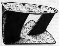 Литой киль-тандем Коллинза
