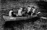 Лодка «ЛГ-4» с веслами