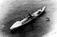 Лодка «МАХ-4» в водах Ангары