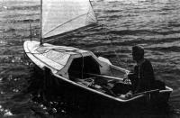 Лодка «Пелла-фиорд» идет на веслах