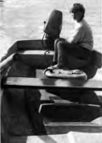 Лодка «Пелла-фиорд» вид изнутри