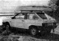 Лодка «Пионер» на автомобиле
