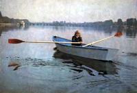 Лодка с одним пассажиром