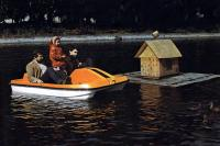 Лодка «Скат» с тремя пассажирами