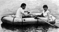 Лодка «Язь-2» на воде