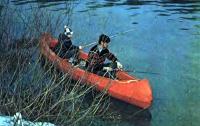 Ловля рыбы с каноэ «Таймыр»