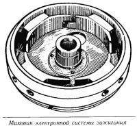 Маховик электронной системы зажигания
