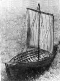 Масштабная модель «рижского корабля» в саду музея