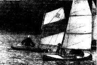 Момент гонок на Ковголовском озере
