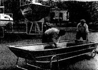 Мотолодка «Казанка-6» с обводами «джонбота»