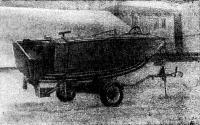 Мотолодка с обводами «глубокое V» по проекту В. Вейнберга