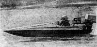 Мотолодка «СЦ-79» на ходу