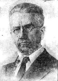 Н. Ю. Людевиг — руководитель группы яхтсменов