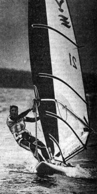 На дистанции чемпионка регаты Кетти Стиил
