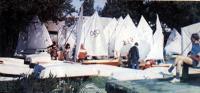 На VII детской парусной регате «Спинакер» на озере Харку