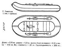 Надувная лодка «Вега» (I исполнение)