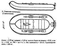 Надувная лодка «Вега» (II исполнение)