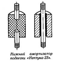 Нижний амортизатор подвески «Нептуна-23»