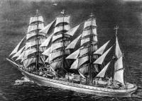 Новое учебное судно японских моряков «Ниппон мару»