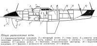 Общее расположение яхты «Кредит Агрикол»