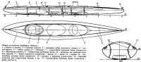 Общее устройство байдарки «Нерль»
