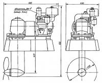 Общее устройство двигателя «ДМ-1»