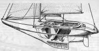 Общее устройство двухместной яхты «Шэдоу»