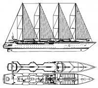 Общий вид 115-метрового «Уиндкрюзера»
