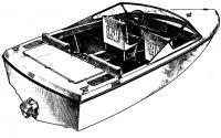 Общий вид катера «Мурена»
